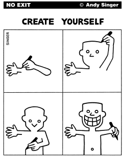 Create Yourself by Andy Singer