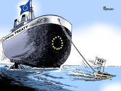 Irish 'Yes' Vote by Paresh Nath