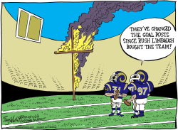 St Louis Rams  by Bob Englehart