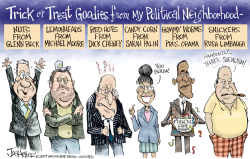 Political Treats- by Joe Heller