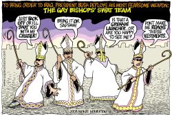 Gay Bishops to Iraq by Wolverton