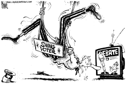 The Swing Voter and the Debate by Mike Lane