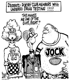 School Drug Testing by Mike Lane