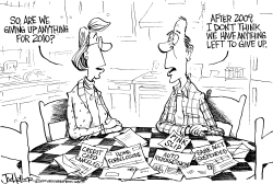 Resolutions of 2010 by Joe Heller