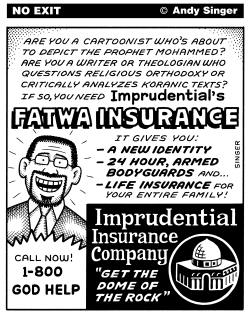 Fatwa Insurance by Andy Singer