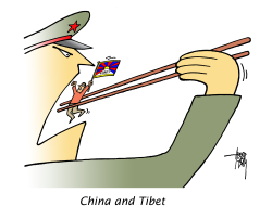 China and Tibet by Arend Van Dam