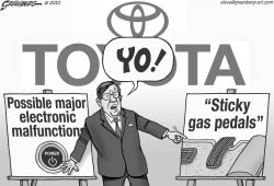 ToYOta bw by Steve Greenberg
