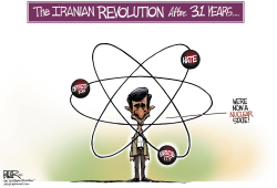 Iranian Revolution  by Nate Beeler