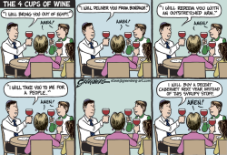 Passover wine by Steve Greenberg