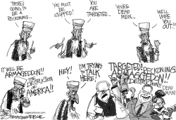 Terror Talk by Pat Bagley