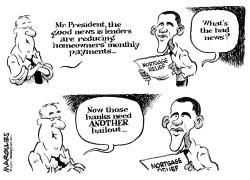 Obama Mortgage Relief plan by Jimmy Margulies
