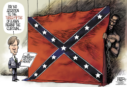 LOCAL VA - Confederate History Month  by Nate Beeler
