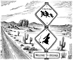 Welcome to Arizona by Adam Zyglis