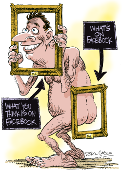Facebook Privacy  by Daryl Cagle