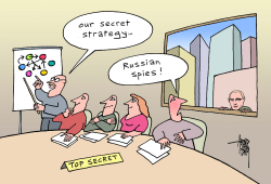 Russian spies and US-secrets by Arend Van Dam