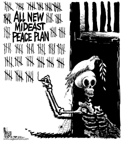 New Middle East Peace Plan by Mike Lane