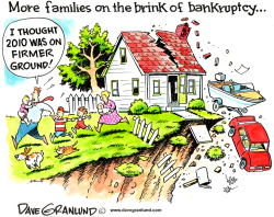 Bankruptcy rate by Dave Granlund