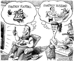 Fantasy Football by Adam Zyglis