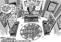 oval office redo by David Fitzsimmons