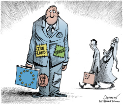 POOR EUROPE by Patrick Chappatte