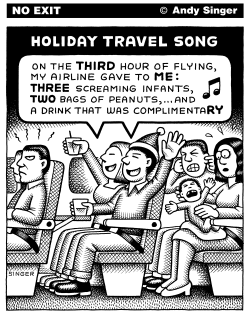 Holiday Travel Song by Andy Singer