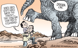 Dream Act  by Mike Keefe