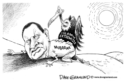 After Mubarak by Dave Granlund