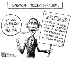 American Exceptionalism by Adam Zyglis
