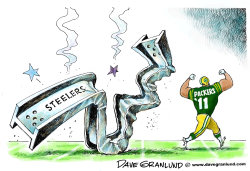 Packers win Super Bowl XLV by Dave Granlund