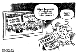 Religious hardliners by Jimmy Margulies
