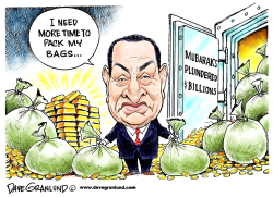 Mubarak delays departure by Dave Granlund
