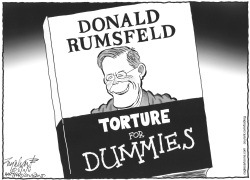 Donald Rumsfeld Book by Bob Englehart