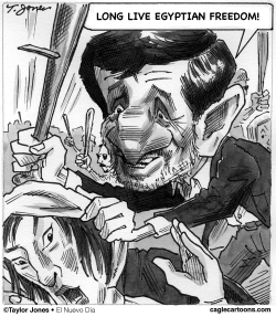 Ahmadinejad - freedom fighter by Taylor Jones