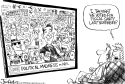 Wisconsin Protests by Joe Heller