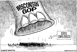 Wisconsin GOP Tramples State Employees by Wolverton