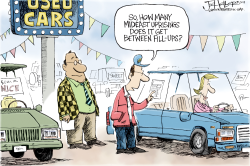 Gas Uprisings by Joe Heller