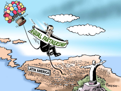 Obama in Latin America  by Paresh Nath