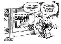 Japanese radioactivity by Jimmy Margulies
