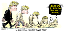 Evolucion de Donald Trump /  by Daryl Cagle
