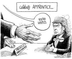 Celebrity Apprentice by Adam Zyglis