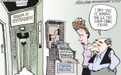 US Tax Code  by Mike Keefe