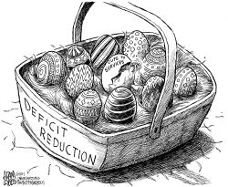 Easter Eggs by Adam Zyglis