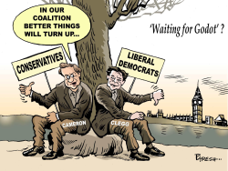 British coalition  by Paresh Nath