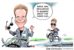 Schwarzenegger love child by Dave Granlund