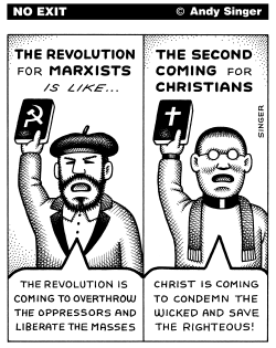 Marxists and Christians by Andy Singer