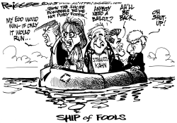 Ship of Fools by Milt Priggee