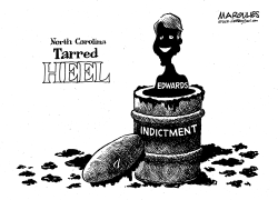 John Edwards Indicted by Jimmy Margulies