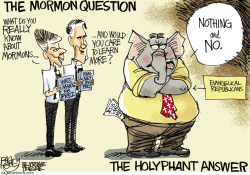 The Mormon Question by Pat Bagley