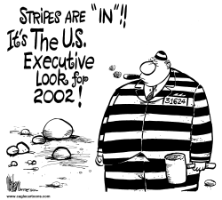 CEOs in Stripes by Mike Lane