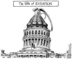 The Era of Extortion by Adam Zyglis